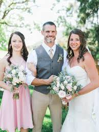 katelyn u0026 mike u0027s southern california backyard wedding oak glen