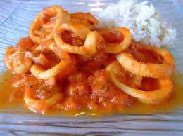 cuisiner des encornets lamelles d encornet en sauce recettes cookeo