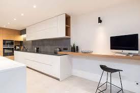 attic kitchen ideas white island and cabinets black bar stools gray concrete