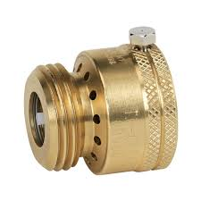 Kitchen Faucet To Garden Hose Adapter Brasscraft 1 In 20 Fine Thread X 3 4 In Hose Thread Brass Garden