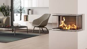 rais visio3 three sided wood burning built in stove fireplace