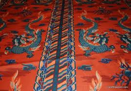 Vintage Drapery Fabric Schumacher True Vintage Schumacher Nos Rare Asia Hand Print Linen