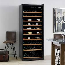 wine enthusiast giant 300 bottle wine cellar with vinoview shelving