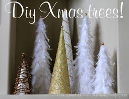 Homemade Christmas Tree by I Love Doing All Things Crafty Diy Xmas Trees