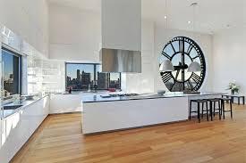 horloge de cuisine design horloge de cuisine design affordable cuisine grande horloge