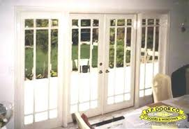 sliding glass french doors 5 foot sliding patio doors with built in blinds french patio doors