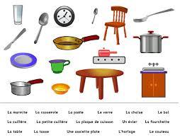 la cuisine en espagnol apprenons français ensemble vocabulaire pour débutant la maison