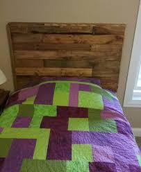 Wood Headboard Diy Twin Size Pallet Wood Headboard U2022 1001 Pallets