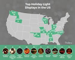 top 10 christmas light displays in us america s 10 best christmas light displays treetopia