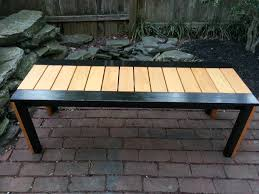 Simple Outdoor Bench Seat Plans by Ana White My First Ana Project Simple Outdoor Bench Diy Projects