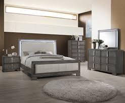 Bedroom Furniture Mn Edgewater Gray Eastern King Panel Bedroom 4pc Set For 1 669 94