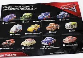 cars characters dan the pixar fan cars 3 mattel