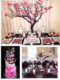 Pink And Black Sweet 16 Decorations 9 Best Sweet 16 Images On Pinterest 16 Birthday Parties 16th