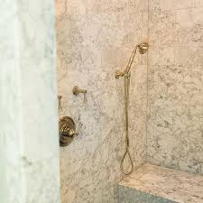 Blackriver Bench Black River Rock Shower Floor Design Ideas