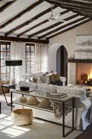 windsor smith home living rooms rustic exposed wood beams
