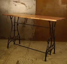 table from vintage sewing machine legs google search ideas