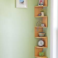 Wall Corner Shelves by Best 25 Knick Knack Shelf Ideas Only On Pinterest Small Shelves