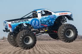 new monster truck official mopar muscle is monster jam s first oem monster truck in
