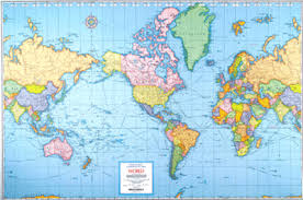 world map oceans seas bays lakes yissgeobee physical geography
