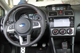 2016 subaru impreza hatchback interior 2016 subaru crosstrek review autoguide com news