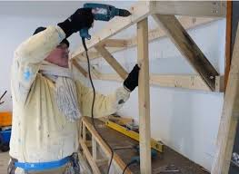 Wood Shelving Designs Garage by Best 25 Heavy Duty Garage Shelving Ideas On Pinterest Heavy