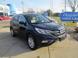 how much is a honda crv 2015 used certified one owner 2015 honda cr v ex l grand blanc mi