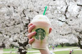 starbucks u0027 cherry blossom frappuccino is only available for 5 days