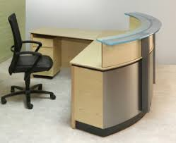 Glass Reception Desk Reception Area And Lounge Furniture Myofficeone Model 35 Office