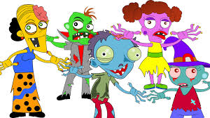 Halloween Cartoon Monsters by Finger Family Monster Halloween Song Finger Family Youtube