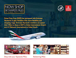 emirates inflight shopping new shopping perks for emirates flyers with ddf travel retail business