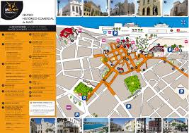 Menorca Spain Map by Mahon Maps And Brochures