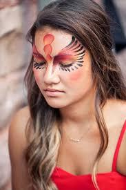 best 25 phoenix makeup ideas on pinterest bird makeup bat face