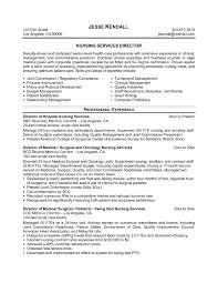 Icu Nurse Resume Example by Director Of Nursing Resume Sample Resume For Your Job Application