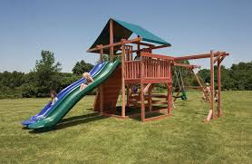 Backyard Playground Slides by Main Attraction Backyard Play Set With Monkey Bars U0026 Slides