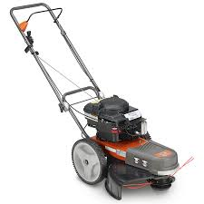 shop husqvarna 190 cc 22 in walk behind string trimmer mower at