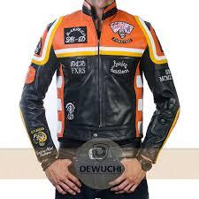 cheap motorbike clothing harley davidson marlboro mickey rourke jacket