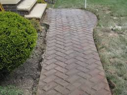 Seamless Stamped Concrete Pictures by Sidewalk In New Brick Herringbone Pattern Stamped Concrete