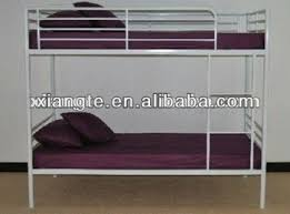 Bunk Bed Used Cheap Size Iron Used Bunk Bed Frame With Protective Barrier