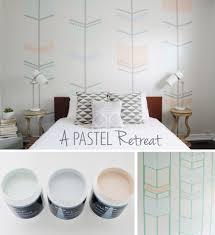 behr designer stories pastel bedroom makeover pink little