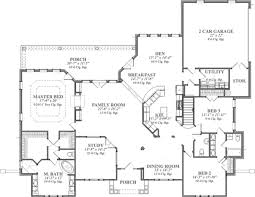 5 Level Split Floor Plans European Style House Plan 3 Beds 3 50 Baths 3000 Sq Ft Plan 63 122