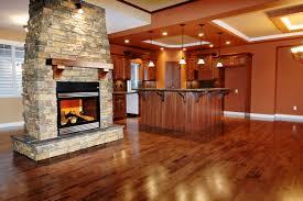 Stone Kitchen Flooring by Rustic Stone Kitchen Backsplash Outofhome