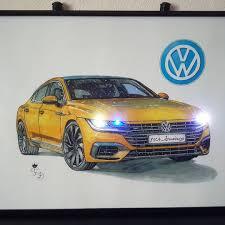 volkswagen arteon volkswagen arteon f1c4 drawings draw to drive