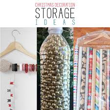 Christmas Decorations Storage by Christmas Decoration Storage Ideas The Cottage Market