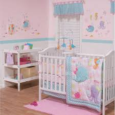 Bedding Sets For Baby Girls by Ocean Animals Sea Creatures Baby Girls Nursery 3 Piece Infant Crib