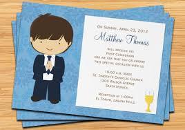communion invitations for boys communion invitation for boy brown hair