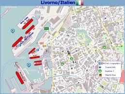Cinque Terre Map Portinfo Livorno Italien Westliches Mittelmeer Kreuzfahrtinfos