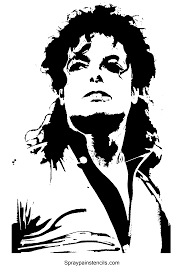 michael jackson stencils