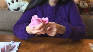 wash cloth flower bouquet baby shower gift idea youtube
