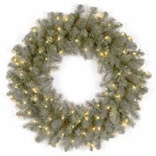 National Tree Company Outdoor Christmas Decorations by National Tree Co Downswept Douglas Blue Feel Real Indoor Outdoor