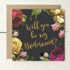 bridesmaid invitation card vintage roses bridesmaid invitation card by wolfe paper co